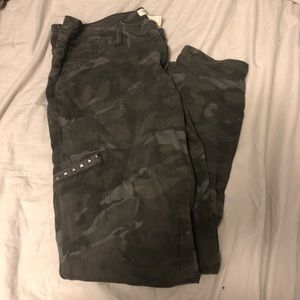 Grey Camo Jeans